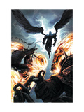 Ghost Riders: Heavens on Fire 6 Cover: Ghost Rider and Zadkiel Posters