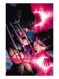 Psylocke 4 Cover: Psylocke and Wolverine Art by David Finch