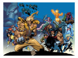 X-Men: The Complete Age Of Apocalypse Epics Cover: Sabretooth Kunst von Joe Madureira