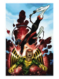 Uncanny X-Men: First Class No.3 Cover: Banshee and Nightcrawler Print by McGuiness Ed