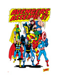 Avengers No.71 Group: Goliath Affiches par Buscema Sal