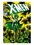X-Men 51 Cover: Dane, Lorna and X-Men Prints by Jim Steranko