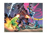New Thunderbolts No.14 Group: Radioactive Man Poster by Tom Grummett