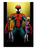Ultimate Spider-Man No.111 Cover: Spider-Man, Peter and May Parker Prints by Mark Bagley