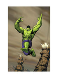 Giant-Size Incredible Hulk #1 Cover: Hulk Affiches van Gary Frank