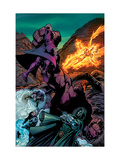 Fantastic Four: House Of M 3 Group: Dr. Doom Print by Scot Eaton