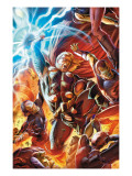 Secret Invasion: Thor No.2 Cover: Thor Prints by Doug Braithwaite