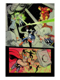 X-Statix 21 Group: Iron Man, Thor and Captain America Posters par Michael Allred
