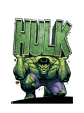 Marvel Adventures Hulk 4 Cover: Hulk Prints by David Nakayama