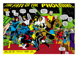 Phoenix: The Untold Story No.1 Group: Storm Prints by John Byrne
