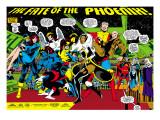 Phoenix: The Untold Story No.1 Group: Storm Prints by John Byrne