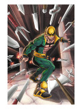 Iron Fist N3 Cover: Iron Fist Posters par Kevin Lau