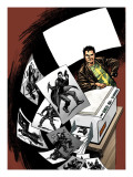 Madrox 4 Cover: Madrox Charging Prints by Lloyd David