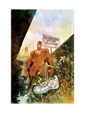 Daredevil: Redemption 1 Cover: Daredevil Art by Sienkiewicz Bill