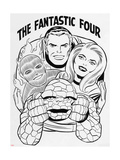The Fantastic Four Omnibus V1: Mr. Fantastic Lminas por Jack Kirby