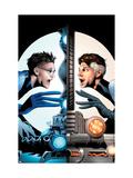 Ultimate Fantastic Four No.21 Cover: Mr. Fantastic Charging Prints by Land Greg