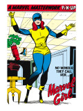 X-Men 9: Marvel Girl Affiches par Jack Kirby