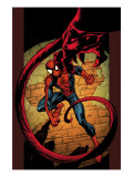 Ultimate Spider-Man 86 Cover: Spider-Man Prints by Mark Bagley