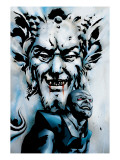 X-Men: Apocalypse Vs. Dracula Cover: Apocalypse and Dracula Prints by Henry Clayton