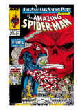 Amazing Spider-Man No.325 Cover: Spider-Man and Red Skull Print by Todd McFarlane