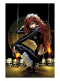 Legion Of Monsters: Satana 1 Cover: Satana Prints by Land Greg