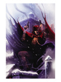 Dark Reign: The Hood 1 Cover: The Hood Prints