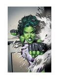 She-Hulk No.5 Cover: She-Hulk Prints by Granov Adi