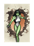 She-Hulk No.1 Cover: She-Hulk Posters by Granov Adi