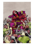 Omega: The Unknown No.9 Cover: Omega Posters by Farel Dalrymple