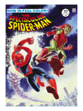 The Amazing Spider-Man No.2 Cover: Spider-Man Fighting Prints