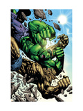 Hulk: Destruction No.4 Cover: Abomination and Hulk Prints by Jim Muniz