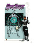 Moon Knight No.23 Cover: Bullseye Art