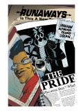 Runaways No.14 Cover: Wilder and Alex Print by Adrian Alphona