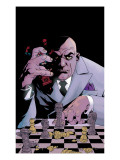 Kingpin No.7 Cover: Spider-Man and Kingpin Plakat av Tony Harris