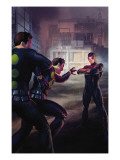 Nation X: X-Factor No.1 Cover: Madrox and Cyclops Print by Christian Macnevin