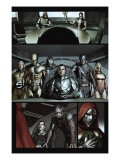 Dark Reign: The Cabal No.1 Group: Osborn, Norman, Hawkeye, Wolverine, Sentry and Ms. Marvel Prints by Granov Adi