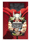 Thor: Blood Oath No.6 Cover: Thor Print by Kolins Scott