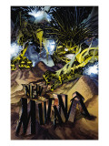 New Mutants 5 Cover: Warlock Prints by Adam Kubert