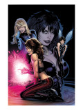 Ultimate Power 6 Cover: Invisible Woman, Wasp, Scarlet Witch and Power Princess Prints by Land Greg