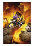 Ultimate Spider-Man No.132 Cover: Kitty Pryde, and Mary Jane Watson Posters by Stuart Immonen