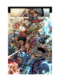 Avengers: The Initiative 19 Group: Spider-Man, Crusader, Captain America, Wolverine and Thor Prints by Talibao Harvey