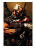 Uncanny X-Men 493 Cover: Cable Prints by David Finch