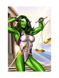 She-Hulk No.1 Cover: She-Hulk Poster