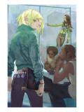 NYX: No Way Home No.1 Cover: Nixon and Kiden Art by Alina Urusov