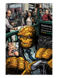 Marvel Comics Presents #1 Headshot: Thing Pster por Nelson Unknown