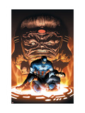 Captain America And The Falcon No.8 Cover: Captain America and Modok Posters by Joe Bennett