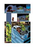 Marvel Monsters: Fin Fang Four No.1 Group: Fin Fang Foom, Gorgilla, Elektro, Googam and Fantasticar Prints by Roger Langridge