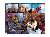 Avengers: The Initiative No.8 Group: Sentry Prints by Stefano Caselli