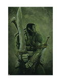Skaar: Son of Hulk 11 Cover: Skaar Print by Travis Charest