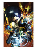 War of Kings No.3 Cover: Havok, Black Bolt and Vulcan Prints by Brandon Peterson